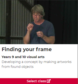 Finding your frame