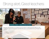 Strong start, Great teachers