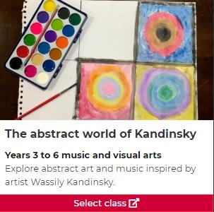 The abstract world of Kandinsky