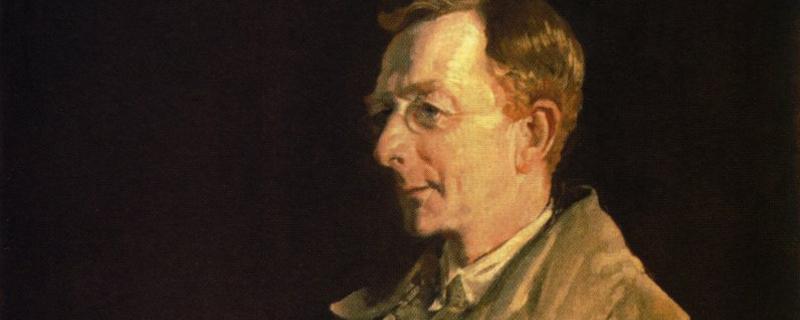Portrait of Charles Bean by George Lambert, 1924