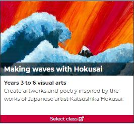 Making waves with Hokusai